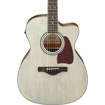 Ibanez Artwood Series AC320CEABL Solid Top Grand Concert Acoustic-Electric Guitar Blonde