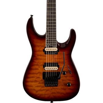 Jackson Pro Dinky DK2Q Electric Guitar Tobacco Burst