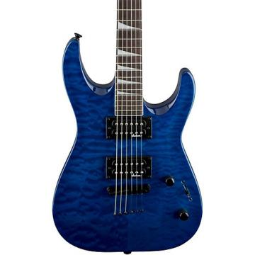 Jackson JS32TQ Dinky DKA, QM Electric Guitar Transparent Blue