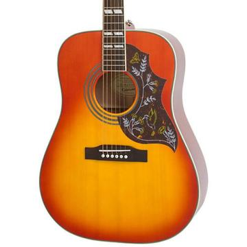 Epiphone Hummingbird PRO Acoustic-Electric Guitar Faded Cherry