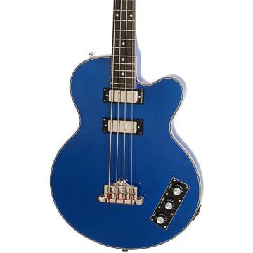 Epiphone Limited Edition Allen Woody Rumblekat Blue Royale Bass Guitar Chicago Pearl
