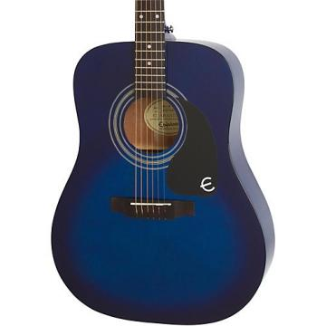 Epiphone PRO-1 Acoustic Guitar Transparent Blue