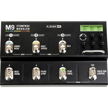 Line 6 M9 Stompbox Modeler Guitar Multi-Effects Pedal