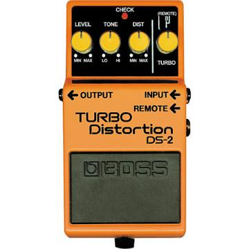 Boss DS-2 Turbo Distortion Pedal with Remote Jack
