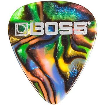 Boss Abalone Celluloid Guitar Thin 12 Pack