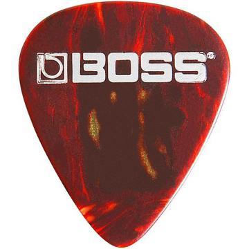 Boss Shell Celluloid Guitar Pick Thin 12 Pack