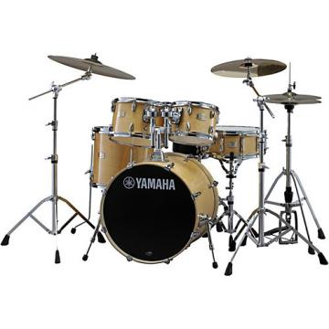 """Yamaha Stage Custom Birch 5-Piece Shell Pack with 22"""" Bass Drum Natural Wood"""