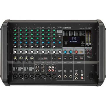 Yamaha EMX7 12-Input Powered Mixer with Dual 710 Watt Amp