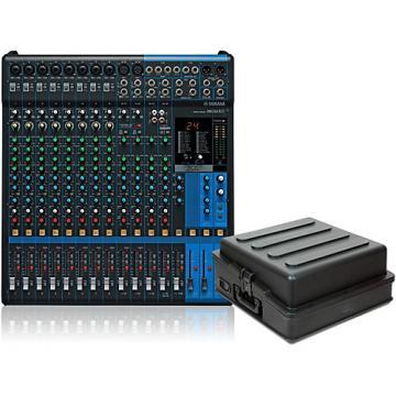 Yamaha MG16XU Mixer with Case
