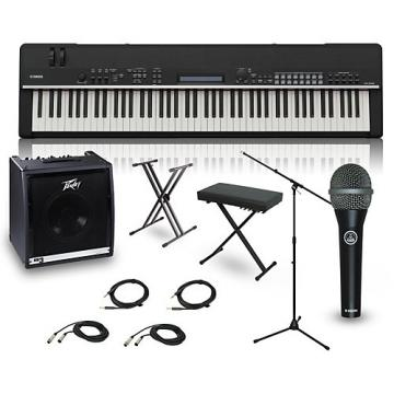 Yamaha CP4 STAGE 88-Key Complete Stage Piano Package
