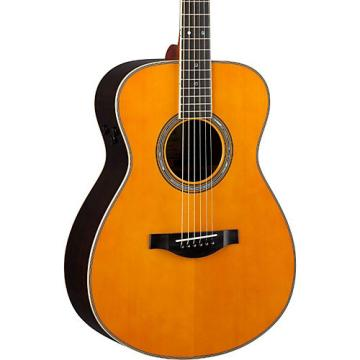 Yamaha LS Transacoustic Jumbo Concert Acoustic-Electric Guitar Vintage Natural