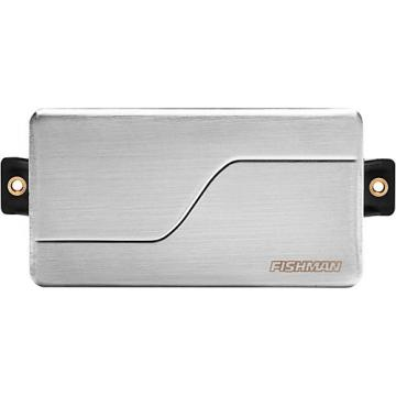 Fishman Fluence Modern Alnico Humbucker Neck Guitar Pickup Brushed Stainless Steel