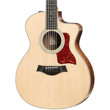 Chaylor 200 Series 254ce Deluxe Grand Auditorium 12 String Acoustic Guitar Natural