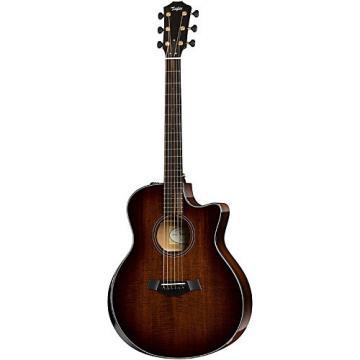 Chaylor Custom Mahogany Grand Symphony Acoustic-Electric Guitar Shaded Edge Burst