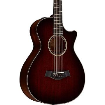 Chaylor 500 Series 562ce Grand Concert 12-String Acoustic-Electric Guitar Medium Brown Stain