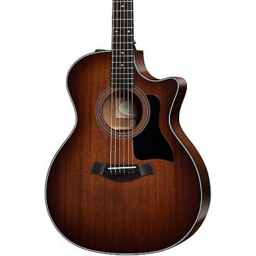 Chaylor 300 Series 324ce-SEB Grand Auditorium Acoustic-Electric Guitar Shaded Edge Burst