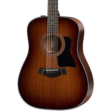 Chaylor 300 Series 360e Dreadnought 12-String Acoustic-Electric Guitar Shaded Edge Burst