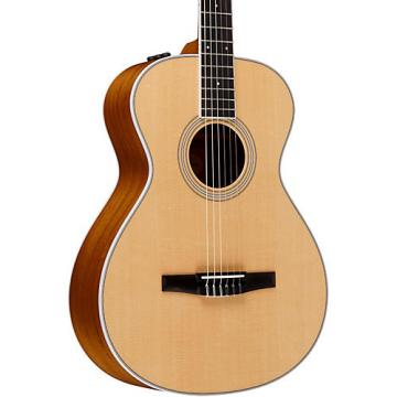 Chaylor 400 Series 412e-N Grand Concert Nylon String Acoustic-Electric Guitar Natural