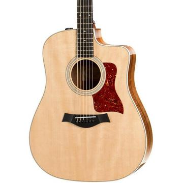 Chaylor 200 Series 210ce Koa Deluxe Dreadnought Acoustic-Electric Guitar Natural