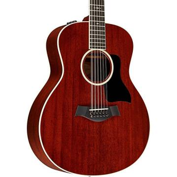 Chaylor 500 Series 566e Grand Symphony 12-String Acoustic-Electric Guitar Medium Brown Stain