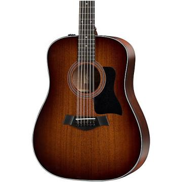 Chaylor 300 Series 360e-SEB Dreadnought 12-String Acoustic-Electric Guitar Shaded Edge Burst