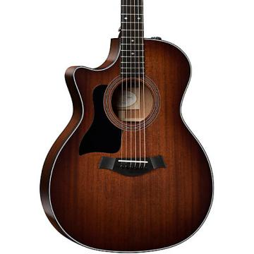 Chaylor 300 Series 324ce-LH Grand Auditorium Left-Handed Acoustic-Electric Guitar Shaded Edge Burst