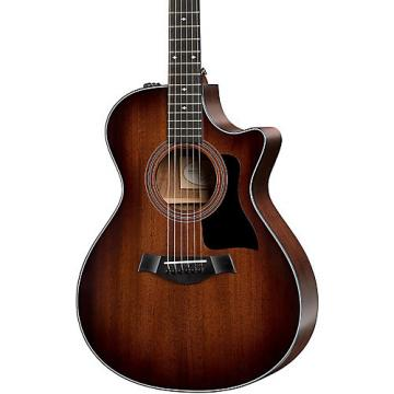 Chaylor 300 Series 322ce Grand Concert Acoustic-Electric Guitar Shaded Edge Burst