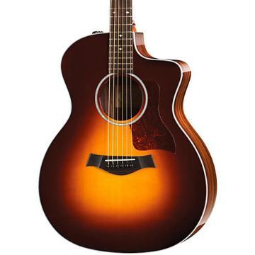 Chaylor 200 Series 214ce DLX Grand Auditorium Acoustic-Electric Guitar Sunburst