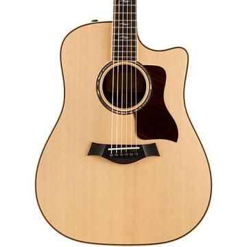 Chaylor 800 Series 810ce Dreadnought Acoustic-Electric Guitar Natural