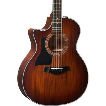 Chaylor 300 Series 324ce-LH Grand Auditorium Left-Handed Acoustic-Electric Guitar