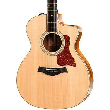 Chaylor 200 Series 214ce Koa Deluxe Grand Auditorium Acoustic-Electric Guitar Natural