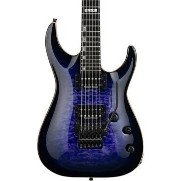 ESP E-II Horizon Electric Guitar with Floyd Rose Reindeer Blue