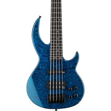 ESP LTD BB-1005/QM Electric Guitar Black Aqua