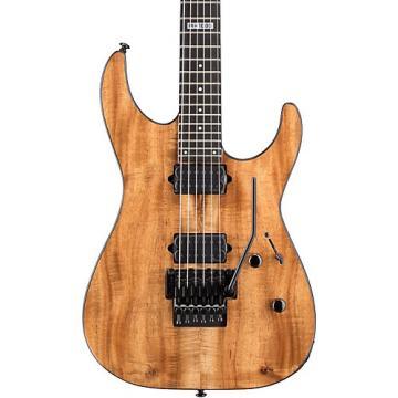ESP M-1000 Limited Edition Koa Electric Guitar Natural