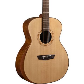Washburn WCG10SNS Comfort Series Grand Auditorium Acoustic Guitar Natural