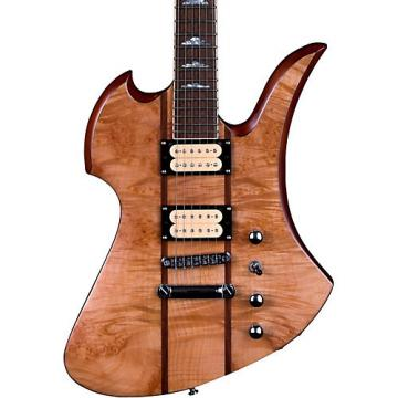 B.C. Rich Mockingbird Neck Through with Maple Burl Top Electric Guitar Gloss Natural