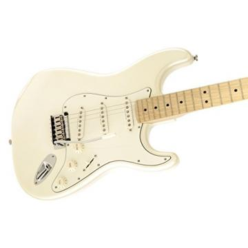 Squier by Fender Deluxe Stratocaster Electric Guitar - Pearl White Metallic - Maple Fingerboard