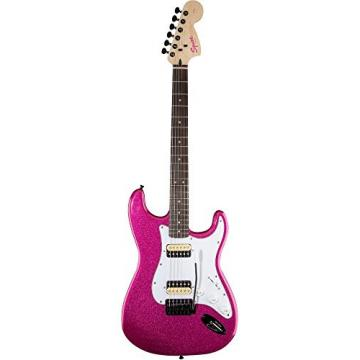 Squier Affinity Series Stratocaster HH with Tremolo Electric Guitar Candy Pink