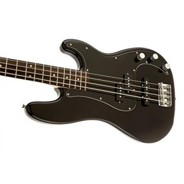 Squier by Fender Affinity P/J Beginner Electric Bass Guitar Guitar - Rosewood Fingerboard, Black