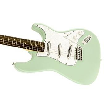 Squier by Fender Vintage Modified Surf Stratocaster Electric Guitar - Surf Green - Rosewood Fingerboard