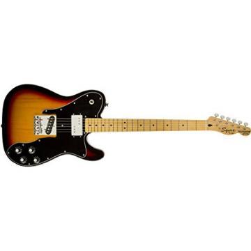 Squier by Fender Vintage Modified Telecaster Electric Guitar Custom - 3-Color Sunburst - Maple Fingerboard