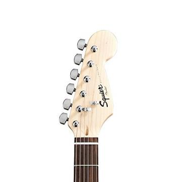 Fender Squier Bullet Strat with Tremolo Electric Guitar Kit, with Sawtooth 10W Amp, and ChromaCast Accessories, Brown Sunburst