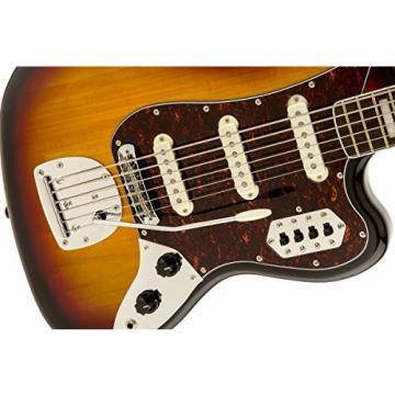 Squier by Fender Vintage Modified Bass VI, 3-Tone Sunburst