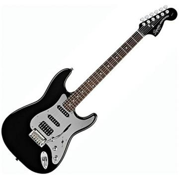 Squier Black and Chrome Stratocaster HSS (Special Edition) w/ Fender Gig Bag