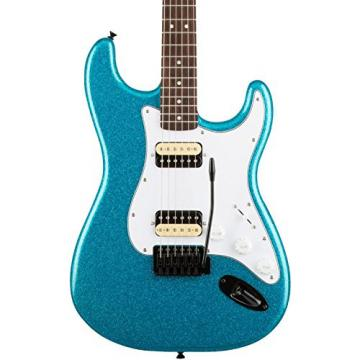 Squier Affinity Series Stratocaster HH with Tremolo Electric Guitar Candy Blue