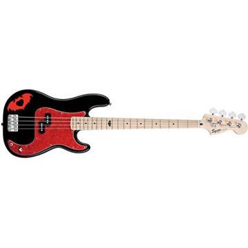 Squier Pete Wentz Precision Bass, Black