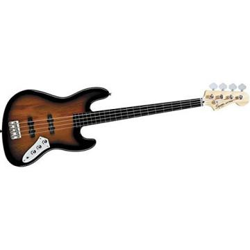 Squier Vintage Modified Jazz Bass Fretless, 3 Tone Sunburst