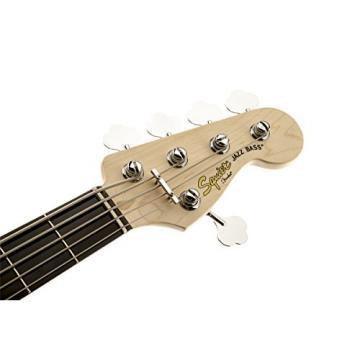 Squier by Fender Deluxe Active Jazz Bass V String, 3 Tone Sunburst