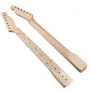 Guitar Neck Replacement Maple Fingerboard for Fender Tele Style Electric Guitar