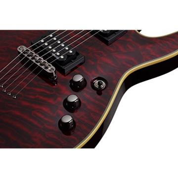 Schecter Omen Extreme-6 Electric Guitar (Black Cherry)